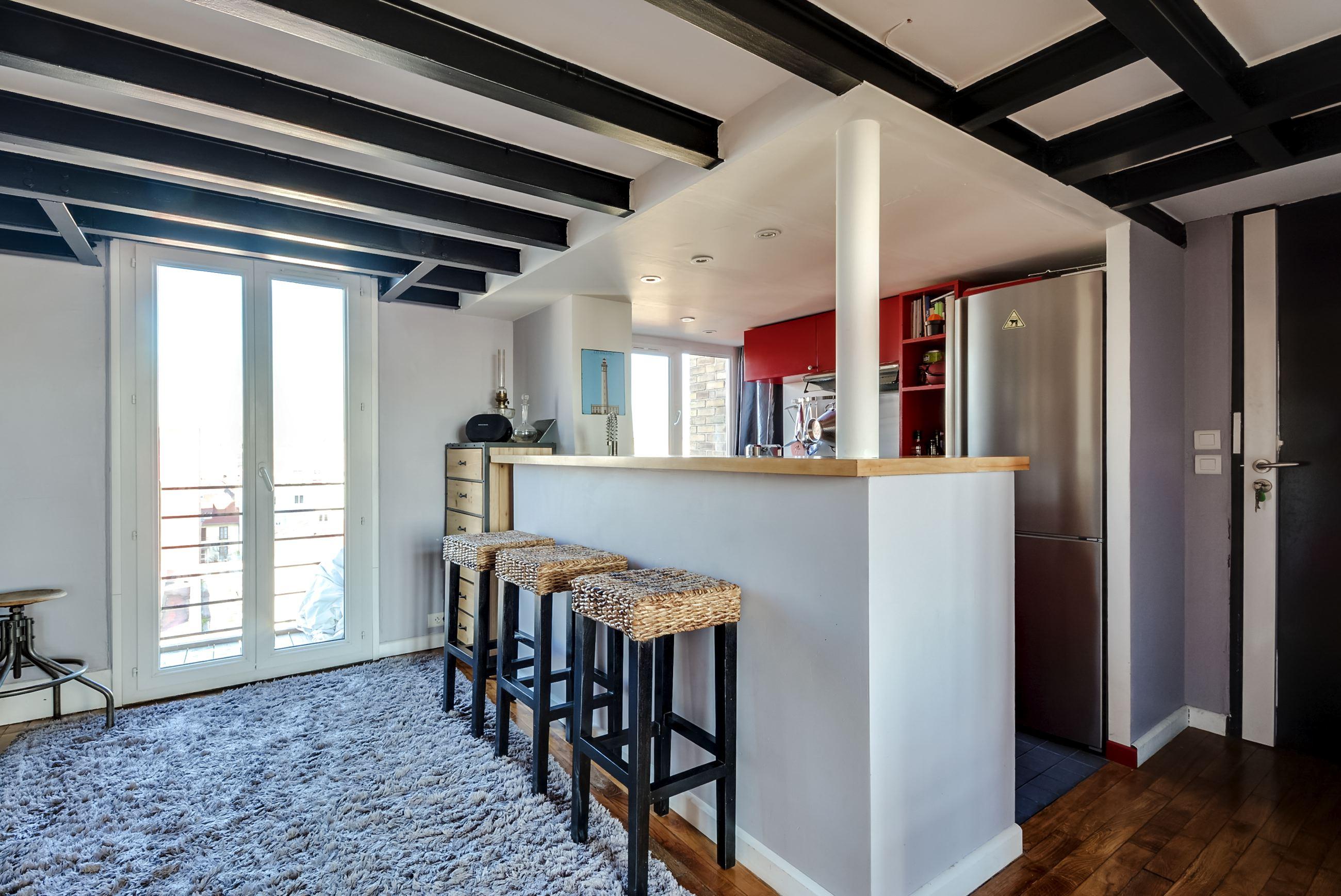 Dernier etage-paris bar