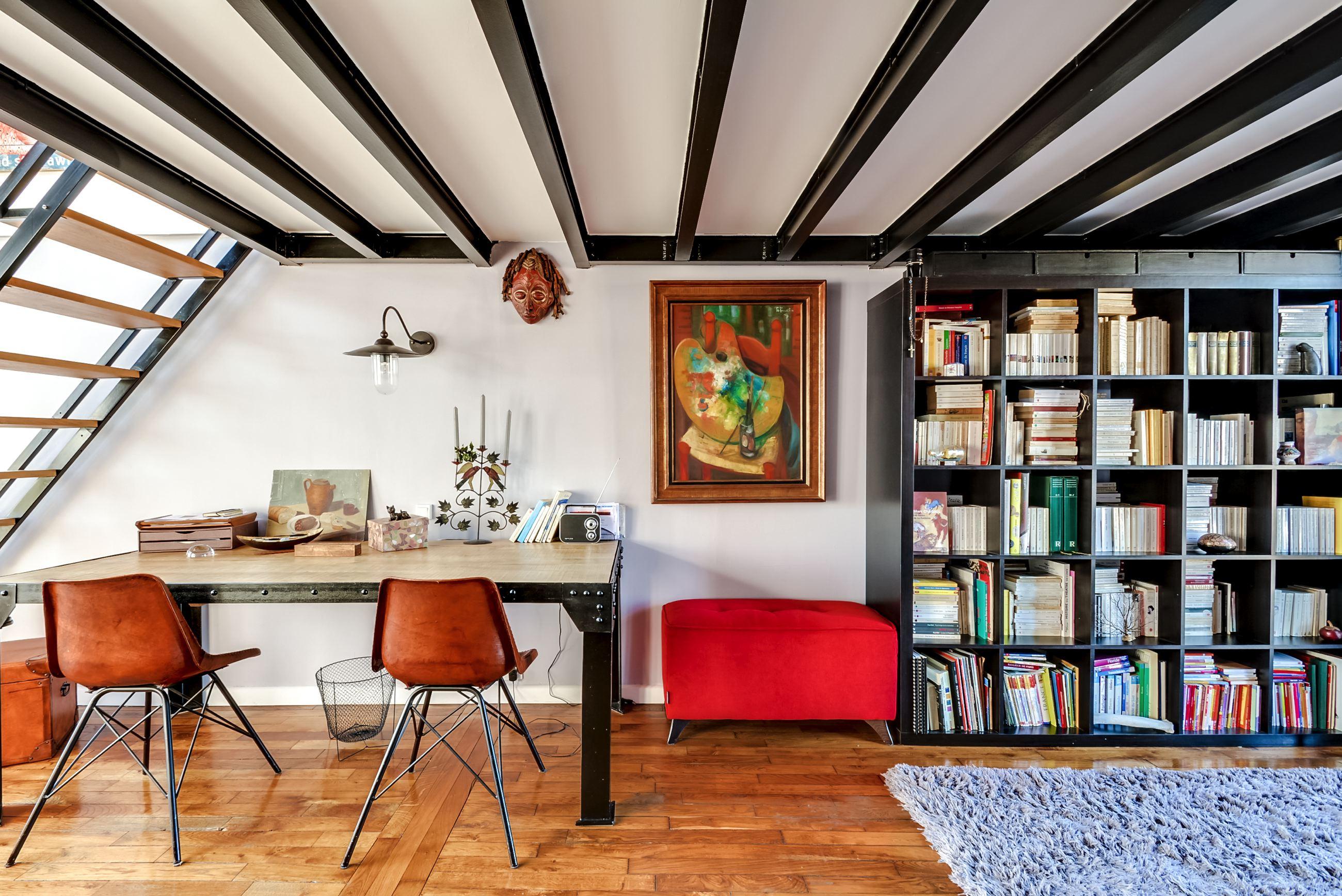 Dernier etage-paris biblio