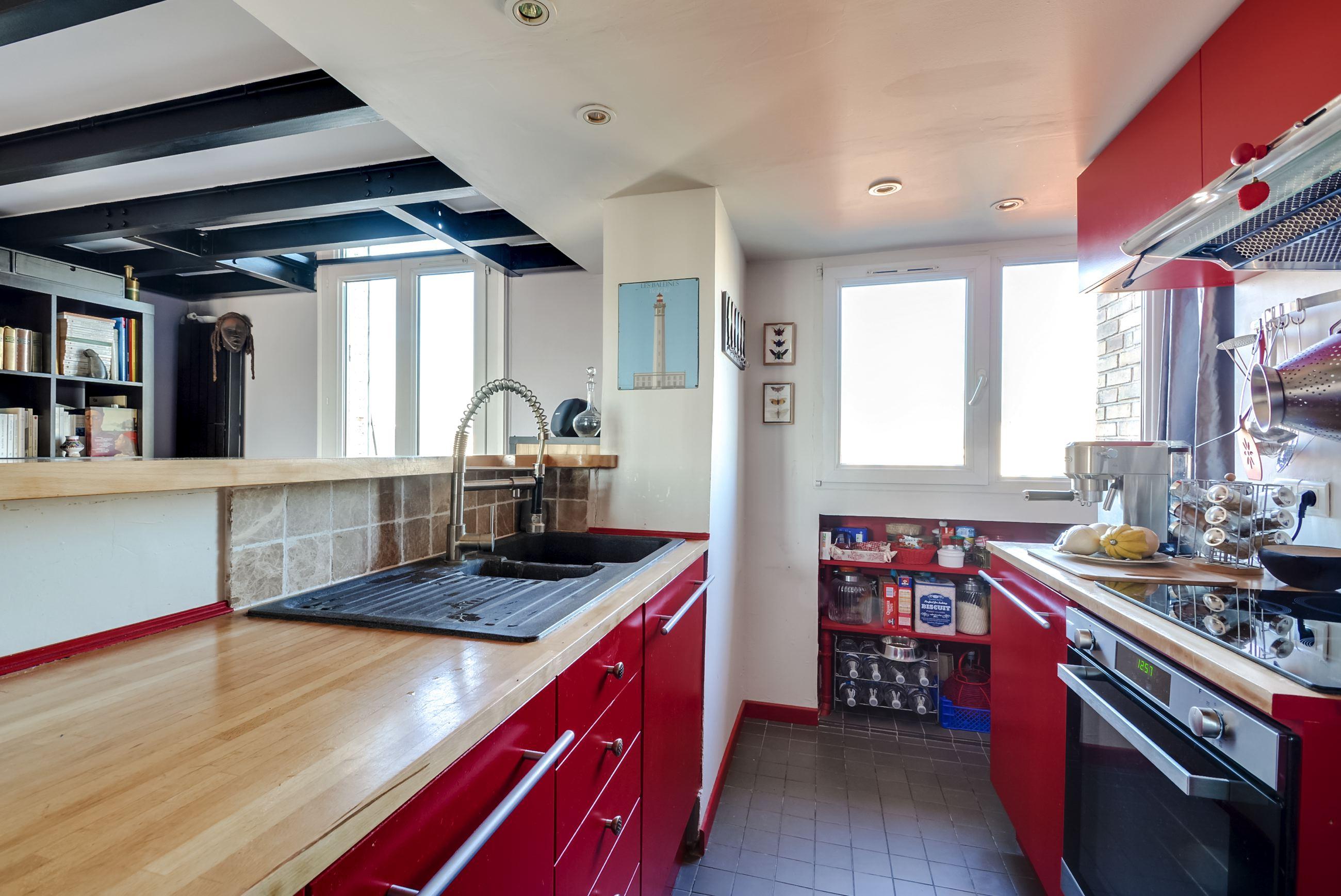 Dernier etage-paris cuisine