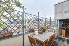 Dernier etage paris terrasse